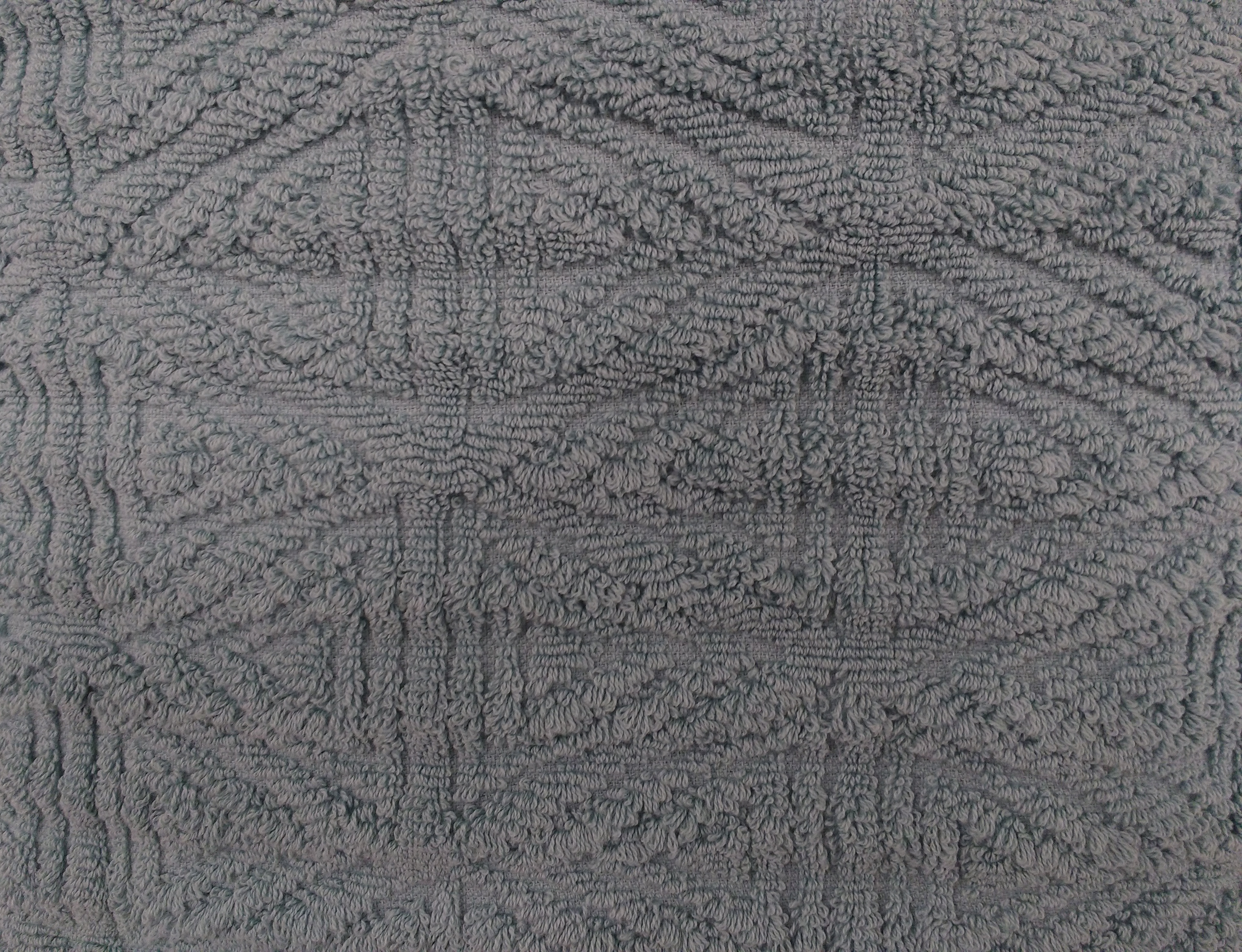 Gray Textured Throw Rug Close Up Picture Free Photograph