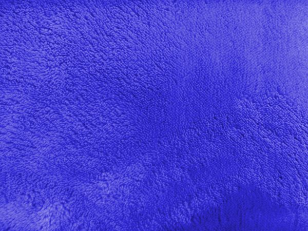 Plush Blue Bathmat Texture - Free High Resolution Photo