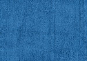Azure Blue Terry Cloth Towel Texture - Free High Resolution Photo