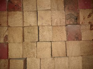 Cut 2x2 Wood Ends Texture - Free High Resolution Photo