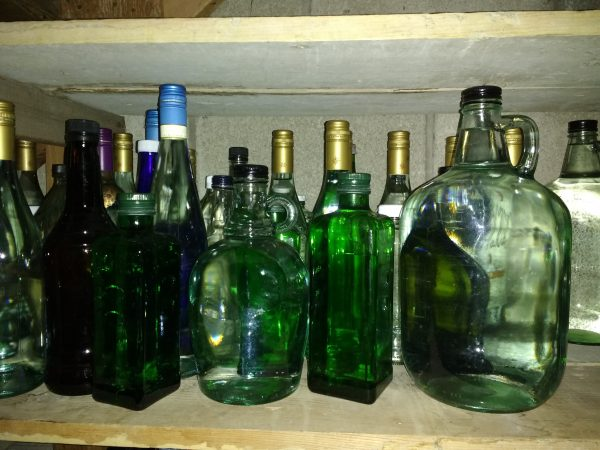 Glass Bottles Filled with Water - Free High Resolution Photo