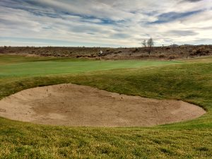 Golf Sand Trap and Putting Green - Free High Resolution Photo