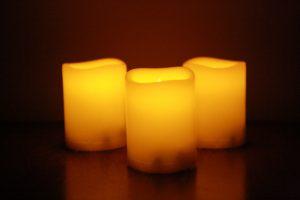 Three Candles - Free High Resolution Photo