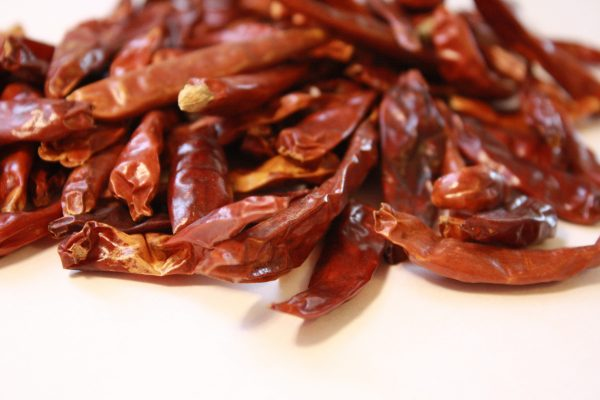 Dried Red Tree Chiles - Free High Resolution Photo
