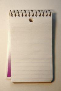 Spiral Memo Notepad - Free High Resolution Photo