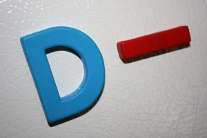 D Minus School Letter Grade - Free High Resolution Photo