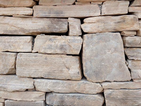 Dry Stack Sandstone Wall Texture - Free High Resolution Photo
