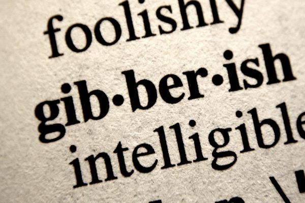Gibberish - Free High Resolution Photo