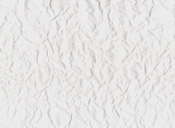 White Wrinkled Paper Texture - Free High Resolution Photo