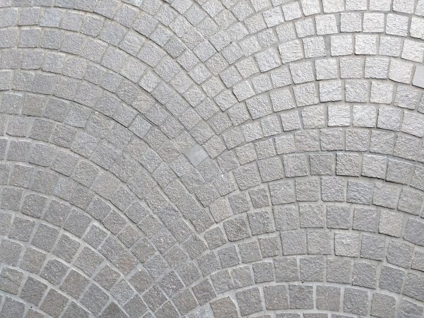 Gray Mosaic Stones with Scalloped Pattern - Free High Resolution Photo