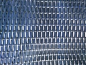 Woven Plastic Texture Blue - Free High Resolution Photo