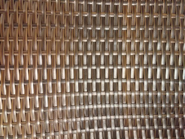 Woven Plastic Texture Copper - Free High Resolution Photo