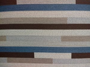 Striped Brown and Blue Upholstery Fabric Texture - Free High Resolution Photo