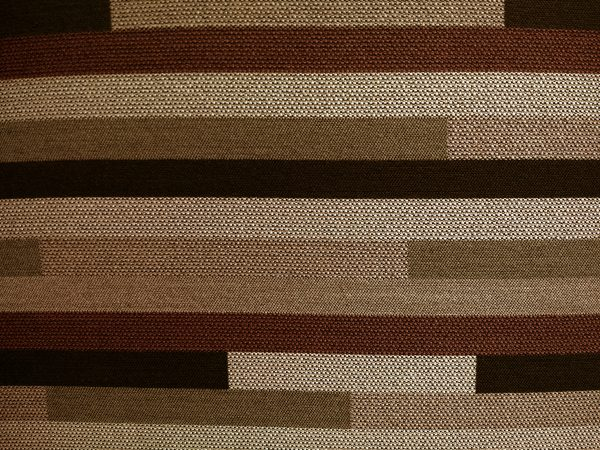 Striped Brown Upholstery Fabric Texture - Free High Resolution Photo