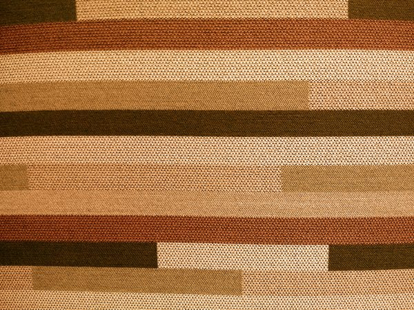 Striped Rust Orange Upholstery Fabric Texture - Free High Resolution Photo